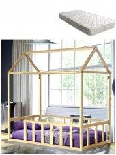 Montessori Yatak + Ortopedik Yatak , 1.sınıf Doğal...