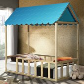 Montessori Yatak , 1.sınıf Çam Ağacı , Mavi Çatılı ,setay