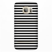 Samsung Galaxy S7 Edge Kılıf Desenli Silikon Kap Arka Koruyucu İnce 0.2mm Kapak Hopi4566