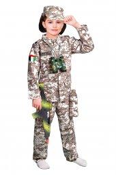 Bae Kız Asker Kostümü