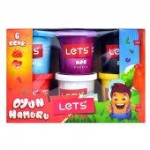 Lets Oyun Hamuru 6 Renk L8350
