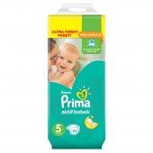 Prima Bebek Bezi Aktif Bebek Ultra Fırsat Paket 5 Beden 112 Adet