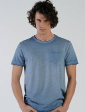 Ets 1349 Mavi Erkek Tişört