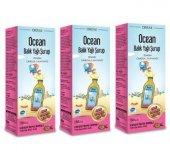 Ocean Balık Yağı Şurubu Omega 3 Karışık Aromalı 150 Ml 3 Adet Skt 12 2019
