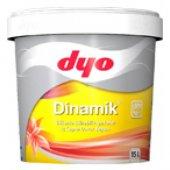 Dyo Dinamik Silikonlu İpekmat İç Cephe Boyası 15 Lt (Bütün Renkler)
