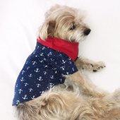 çapa Polo Yaka Tişört By Kemique Köpek Kıyafeti Köpek Elbisesi