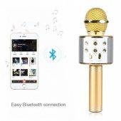 Polygold Pg 116 Ws 858 Wster Karaoke Mikrofon, Bluetooth Hoperlör, Usb, Sd, Fm Radyo