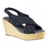 Greyder 54502 Yfeta Lacivert Kadın Sandalet