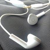 Apple İphone Se Kulaklık Mikrofonlu Kablolu Stereo 3.5 Mm Kulaküstü Sağlam Uzun Ömürlü
