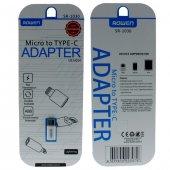 Oneplus 5t Şarj Çevirici Adaptör Micro Usb To Type C Typec