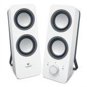 Logıtech Z200 Beyaz 1+1 Speaker Hoparlör 980 000811