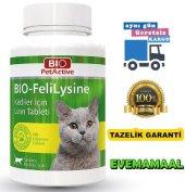 Kediler İçin Sağlıklı Gelişimi Destekleyen Lizin Tablet 90 Adet