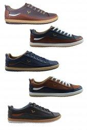 4 Mevsim Cilt Açma Deri Termo Kauçuk Taban Günlük Erkek Ayakkabı