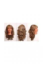 Sentetik Saç Uzun Dalgalı Gerçek Saç Dokusuna En Yakın Materyal