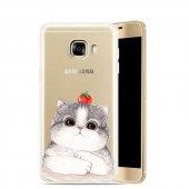 Samsung Note 4 Smiling Cat Telefon Kılıfı