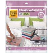 Magic Saver Bag 2li Seyahat Vakumlu Poşet Seti (M)