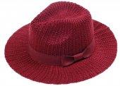 Bayan Örme Geniş Kenar Şapka
