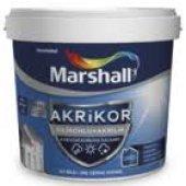 Marshall Akrikor Silikonlu + Akrilik Dış Cephe Boyası 15 Lt (Bütün Renkler)
