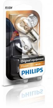 Philips 12v 21 5w 1016 Park Fren Ampulü Şaş Tırnak İkili Paket