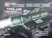 Km 905 Şarlı El Feneri Silah Aparatlı Zoomlu