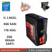 ıntel İ5 3570 İşlemci 3.4ghz 8gb Ram 1tb Hdd 2gb 128bit Ekran Kartı