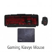 Hıper Dark Vane V10 Gaming Klavye Mouse Mouse Pad Set
