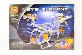 302 Parça Metal Lego Uçak 3 Adet V48