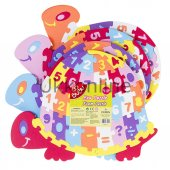Bu Bu Eva Puzzle Kaplumbağa Rakamlar