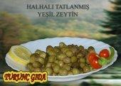 Yeşil Zeytin Halhalı (1 Kg)