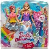 Barbie Barbie Dreamtopia Dönüşen Prenses Barbie Fjd08