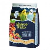 Nature Plan Ballı Meyveli Kabuksuz Muhabbet Kuş Yemi 400 Gr