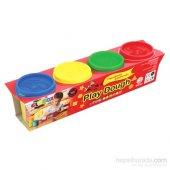 Globox Play Dough 4 Renk Oyun Hamuru 520 Gr