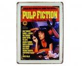 Vintage Metal Pano Pulp Fiction 30x40
