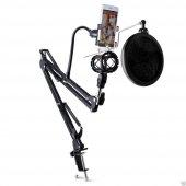 Profesyonel Stüdyo,youtuber Mikrofonu Standı,mikrofon Pop Filtre