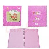 Baby Shower Anı Defteri 50 Sayfa Pembe