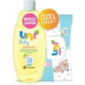 Uni Baby Şampuan 750 Ml + Wipes Islak Mendil