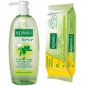 Komili Bebe Şampuanı 750 Ml + Islak Havlu Hediyeli(60 Lı)