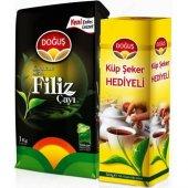 Doğuş Karadeniz Siyah Filiz Çayı 1000gr+300gr Şeker Hediyeli