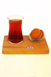 Joy Kitchen Heybeli Ahşap Çay Sunumu (4 Parça) P42361s1 & P53713s1 & Nrna58011