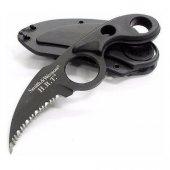 Smith Wesson Csgo Siyah Karambit Bıçak Kamp Piknik Av Bıçağı