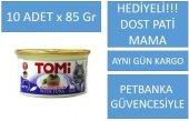 Tomi Tahılsız Ton Balık Yetişkin Kedi Konservesi 85gr X 10adet