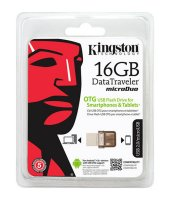 16 Gb Flash Bellek Kingston Otg