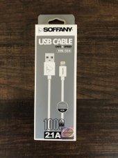 Usb Data Kablosu Soffany 2.1a İphone