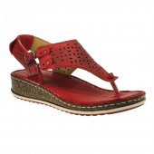 Consuelo 1390 P.a Kırmızı Kadın Sandalet