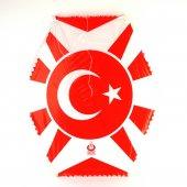 Türk Bayraklı 87x72 Cm Uçurtma 50 Mt Uçurtma İpi Dahil