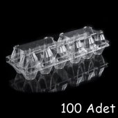 Plastik 6' Li Yumurta Viyolü (100 Adet) Ankaraviyol Viyolpazarı