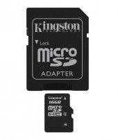 Kıngston 16gb Microsdhc Class 4 Flash Card