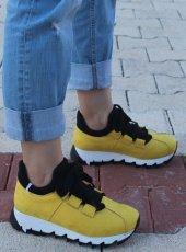 Terra Sarı Bayan Spor Ayakkabı