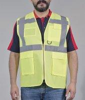 Mühendis Yeleği Reflektörlü (Sarı)