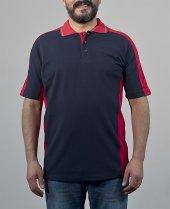 Erkek Gömlek Yaka Lakost Tişört İş Elbiseleri T Shirt